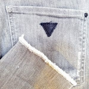 "Grey ""Super High Waisted"" Jeans"